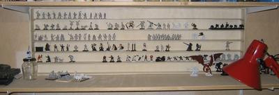 Display shelf in the shelf